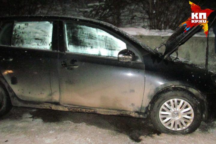 Гражданин Новоуральска сжег машину бывшей супруги