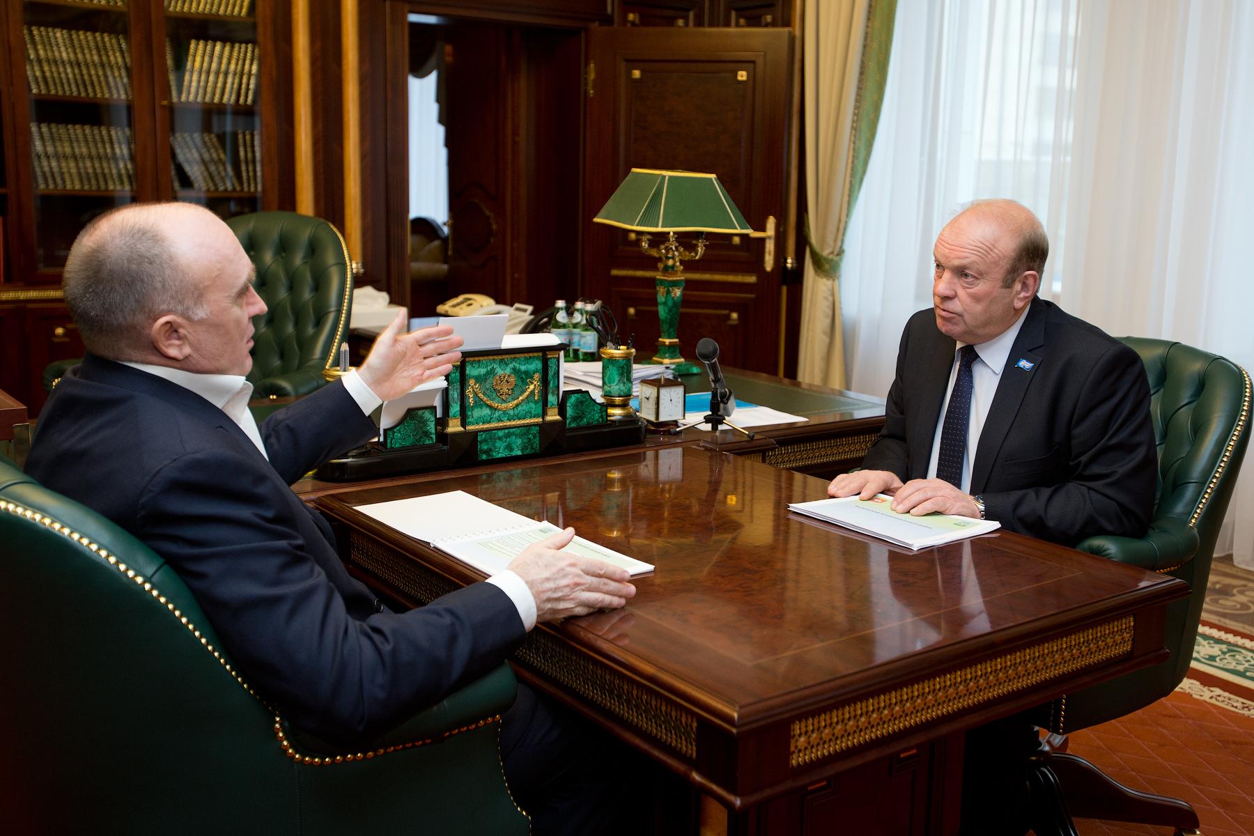 Борис Дубровский дал поручение поднять качество обработки сельхозземель