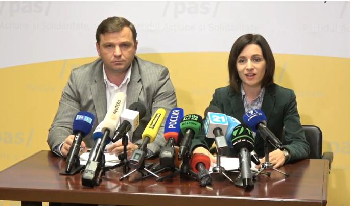 Проигравшая вМолдавии кандидат потребовала отставки руководителя ЦИК