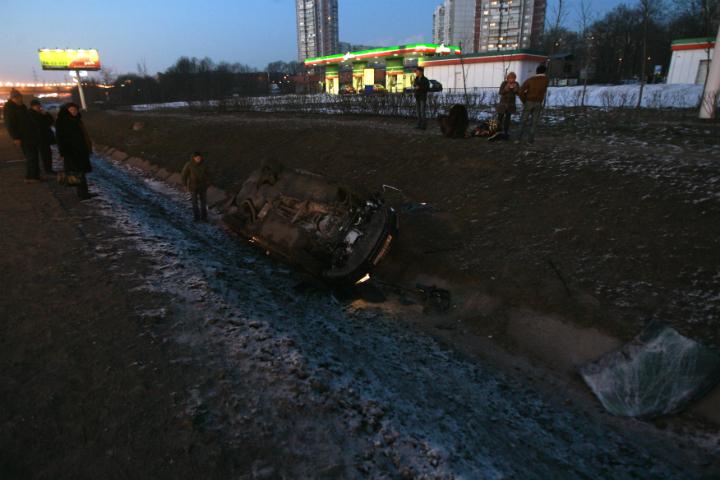 ГИБДД: ВДТП на трассах Мурманской области пострадали 6 человек
