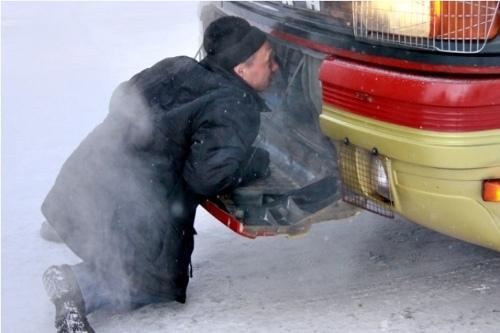 Автовокзал Томска отменил ряд рейсов ввыходные из-за морозов