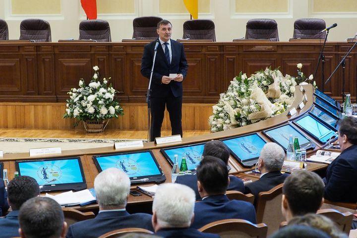 Председатель Ставропольского краевого суда Евгений Кузин.