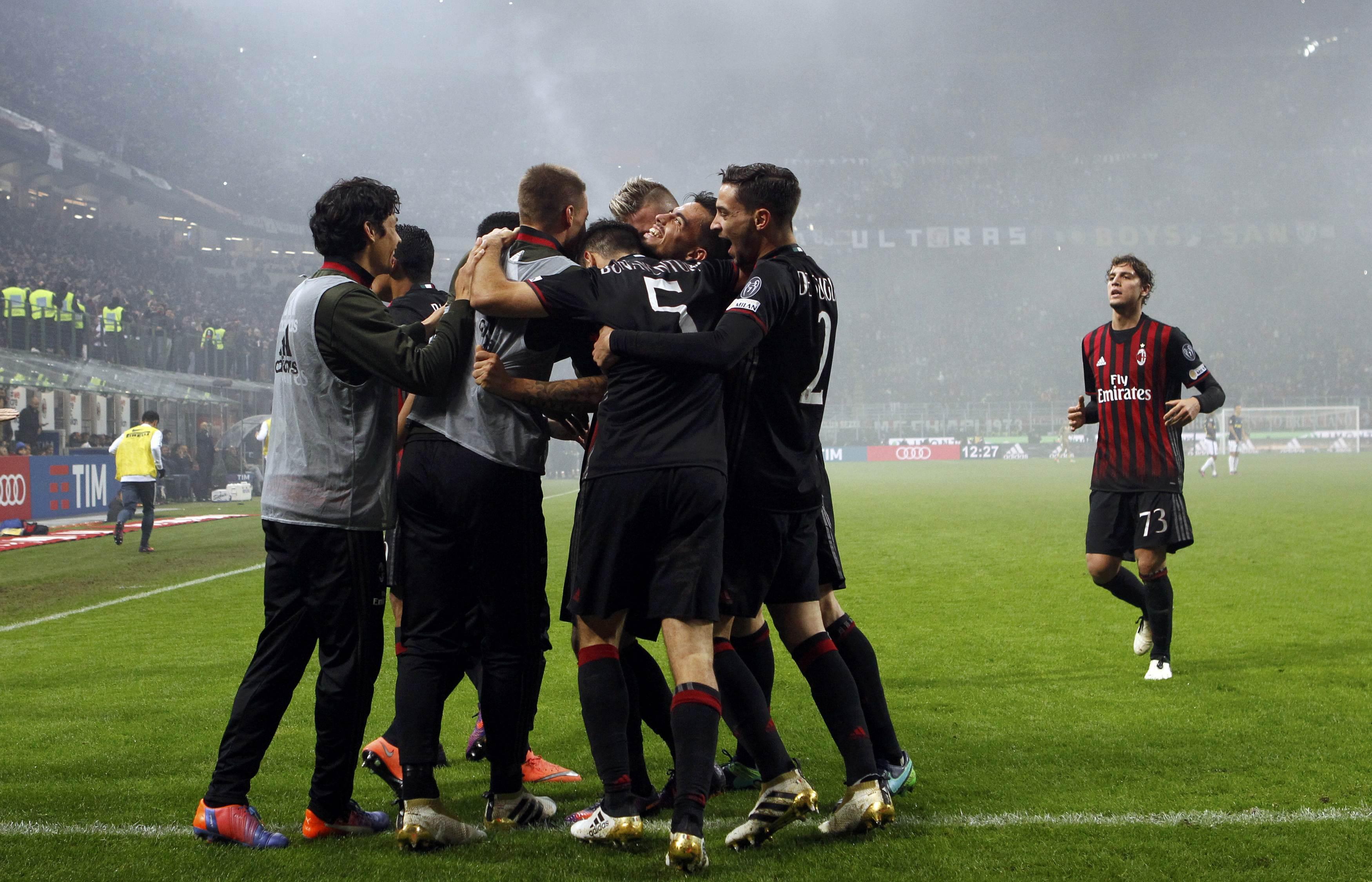 «Интер» и«Милан» расписали боевую ничью вдерби