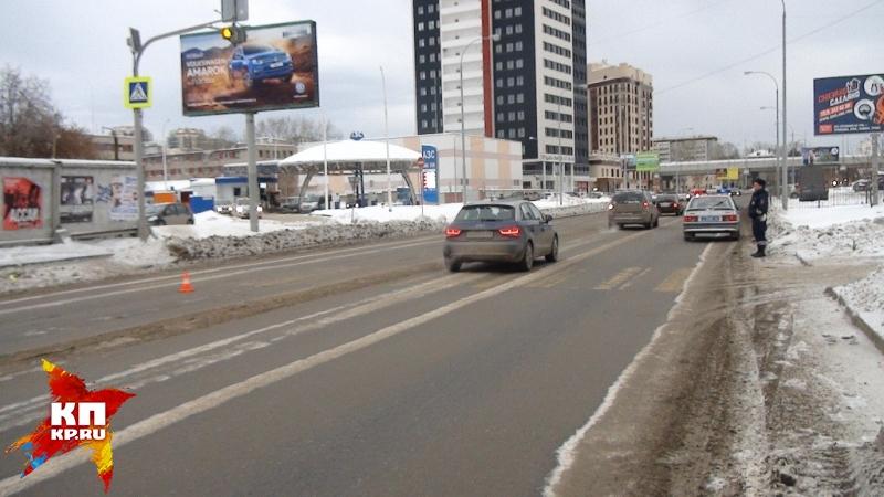 ВЕкатеринбурге шофёр иномарки сбил пешехода