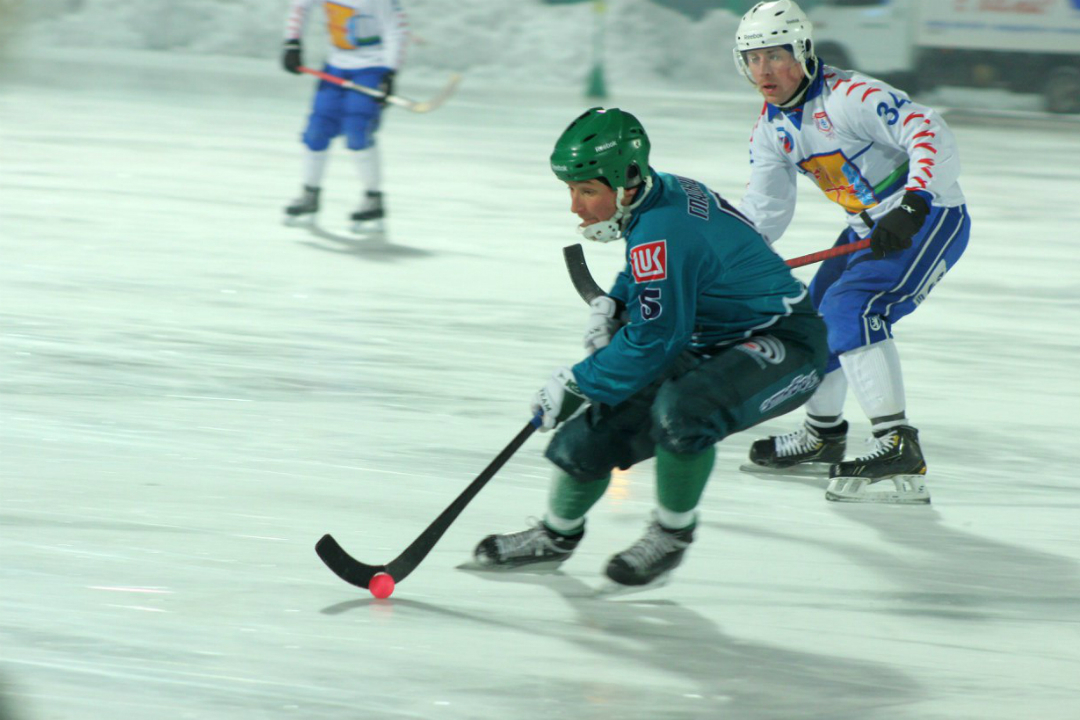 «Водник» победил «Родину» вматче чемпионата РФ похоккею смячом