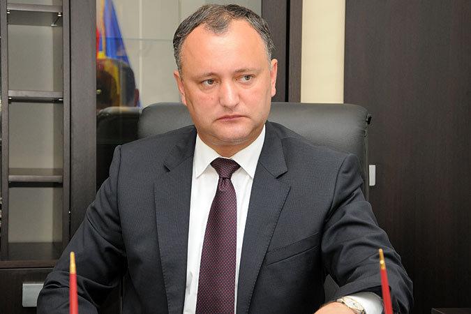 Избранный президент Молдовы Игорь Додон прокомментировал указ Анатолия Шалару