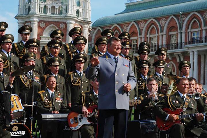Ансамбль войск национальной гвардии России и его руководитель, генерал Виктор Елисеев