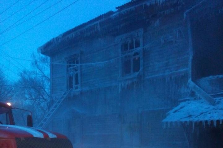Ребенок-инвалид погиб на пожаре в Еврейской автономной области