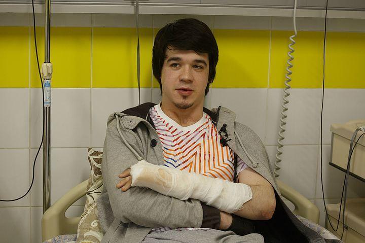 Владимир - первый пациент, кому пересадили биологический имплантат