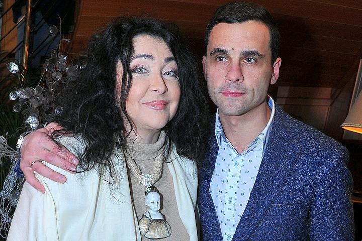 Лолита Милявская с мужем Дмитрием.