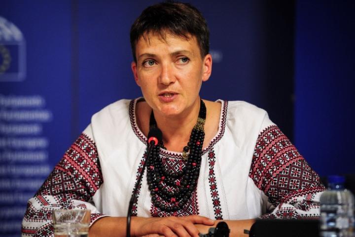 О Надежде Савченко давно говорят, что она или сумасшедшая, или наркоманка