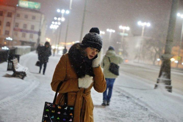Снегопады в Томске продлятся еще неделю.