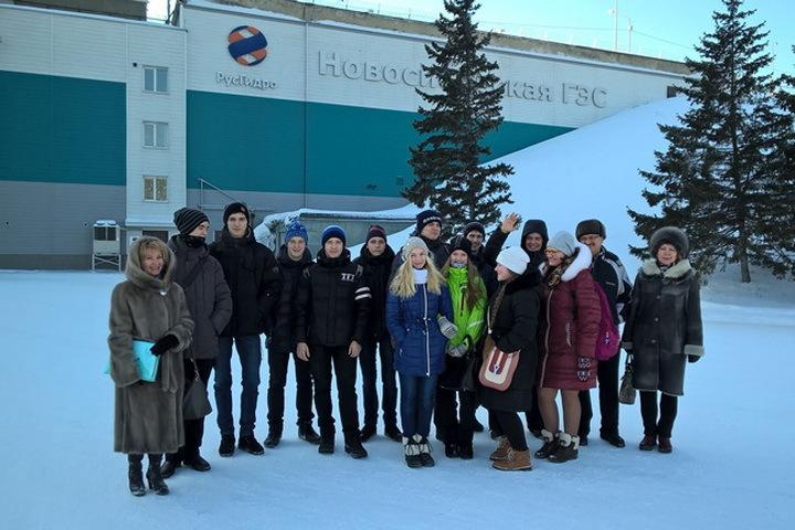 Новосибирский Энергокласс РусГидро из школы № 112.