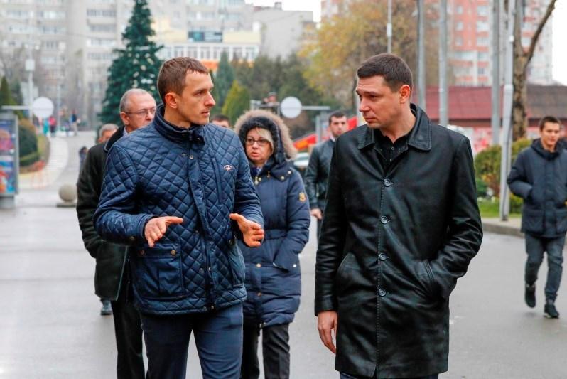 Евгений Первышов предложил совместить парки Краснодара