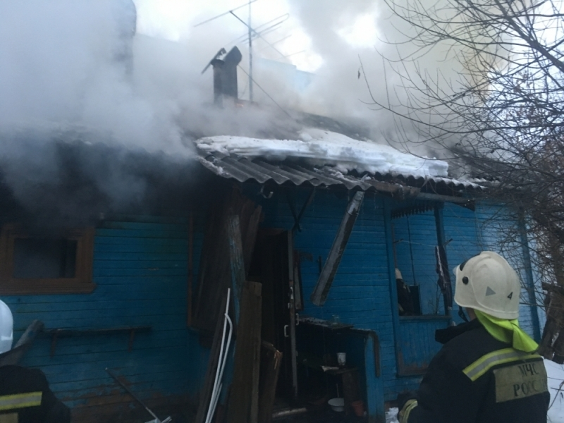 Пожар чуть не забрал детские жизни Фото: МЧС по Тверской области