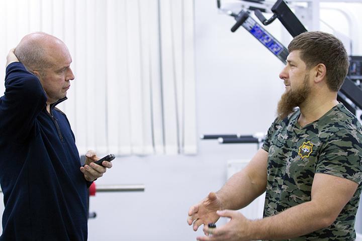 Самые интересные фрагменты беседы представляем вашему вниманию. Фото: ТАСС\Пресс-служба главы Чечни