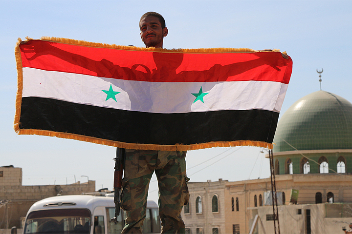 12 кварталов Алеппо освобождено от бандитов.