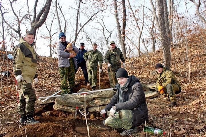 Студенты и аспиранты ДВФУ нашли развалины древнего маяка.Фото: dvfu.ru