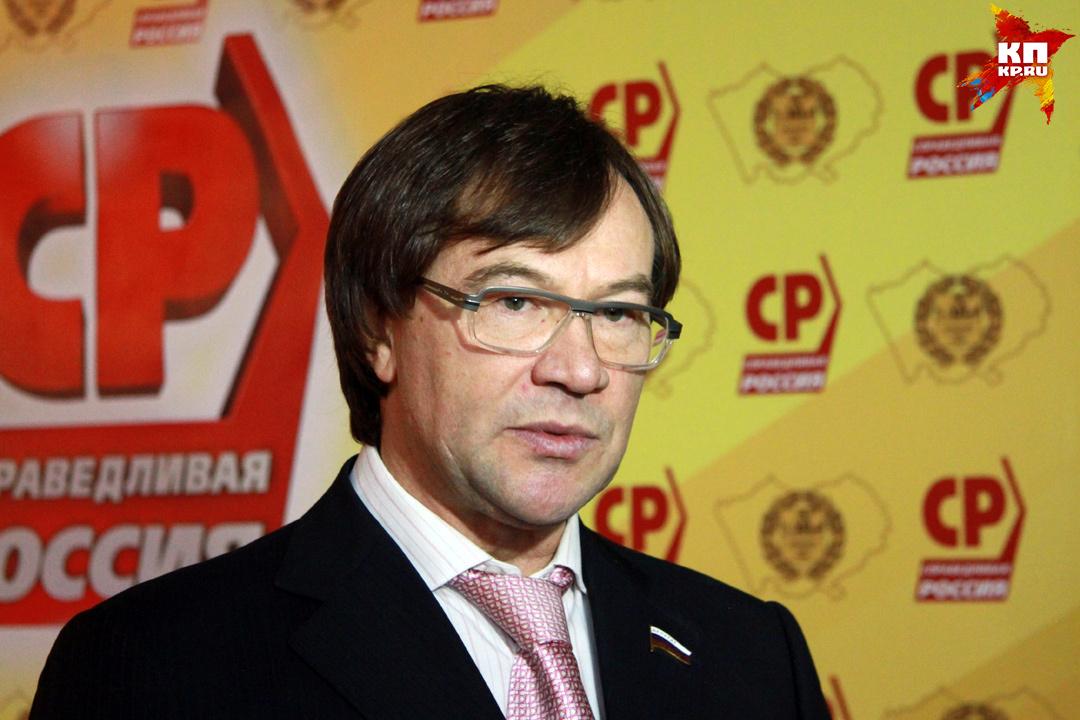 Депутат Госдумы Александр Терентьев