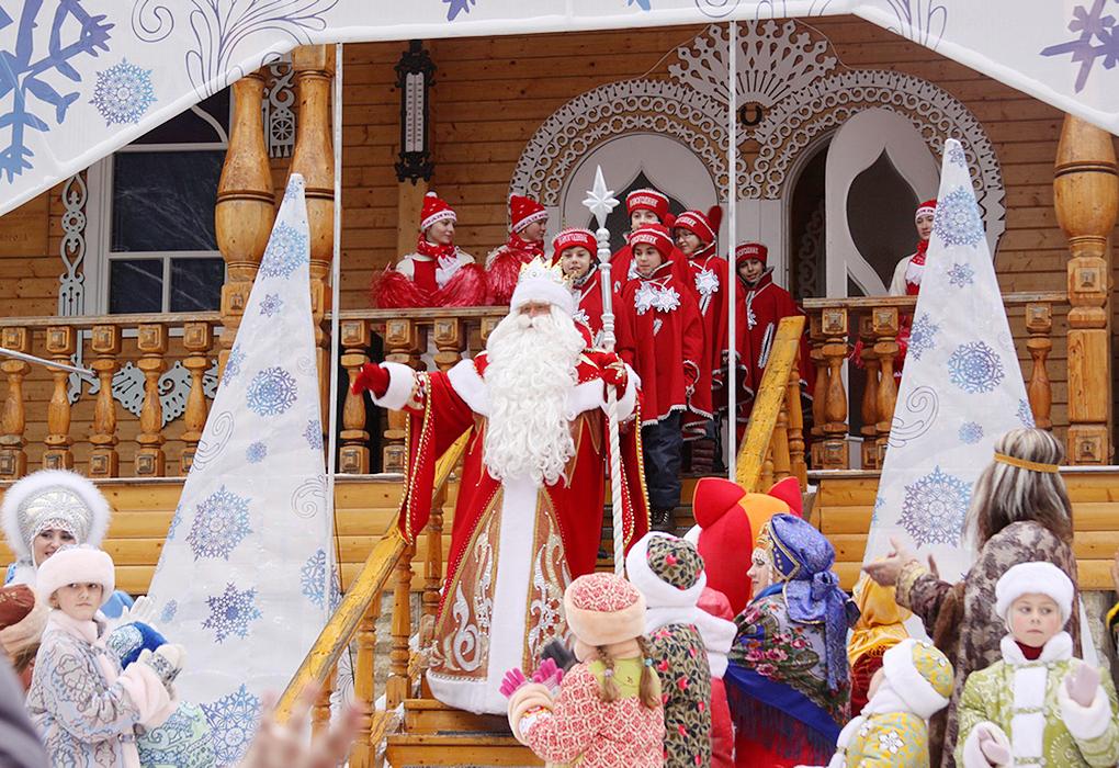 Дед Мороз ждет в волшебном терему