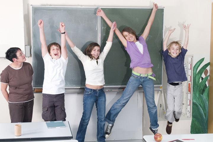 Ни формы, ни учебников, ни оценок... Мы точно в школе?! Фото: vrml.k12.la.us