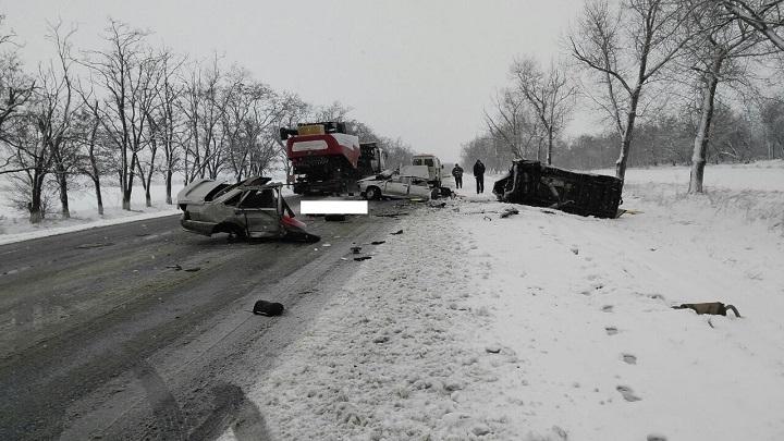 ВКрасногвардейском районе вДТП умер шофёр