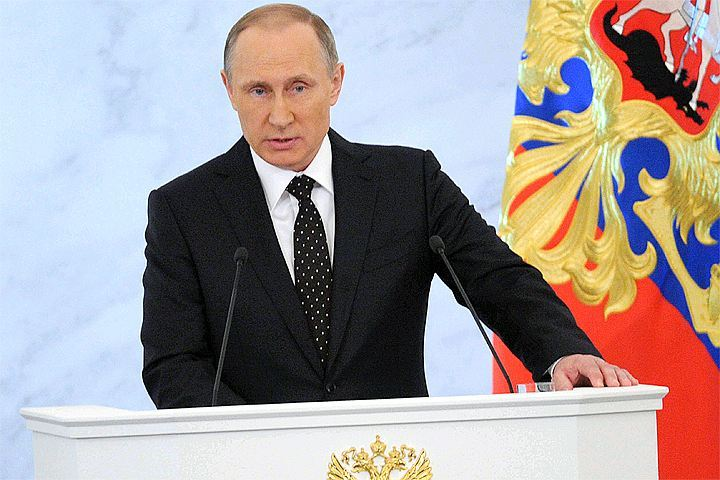 Владимир Путин огласит в Кремле свое тринадцатое послание Федеральному собранию