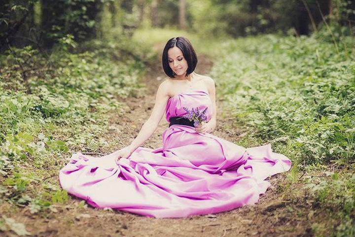 Загадочная Дарья Юркевич в прекрасном платье. Фото: Instagram Дарьи Юркевич