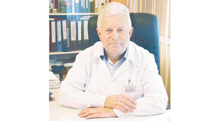 Заслуженный врач РФ Михаил Коростин.