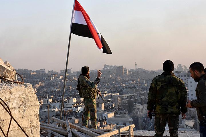 Под полный контроль сирийских властей перешел не только Хан аш-Ших, но и прилегающие к нему тринадцать населенных пунктов