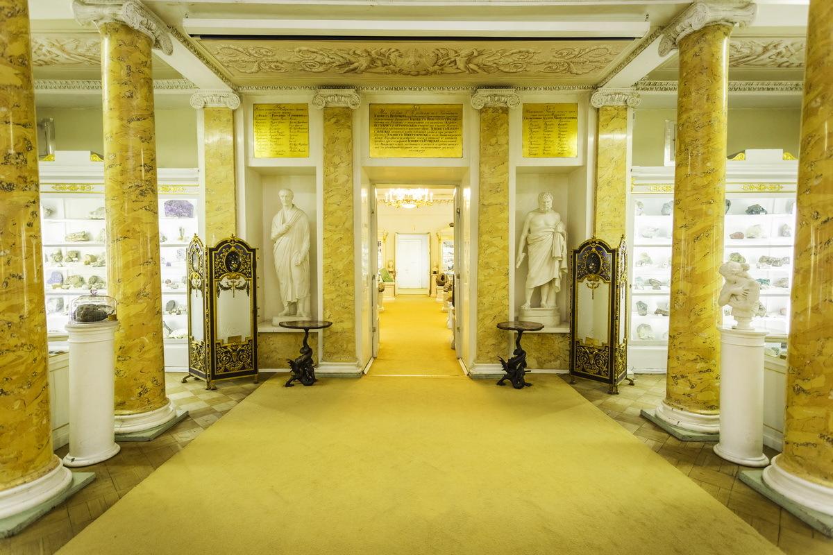 После реконструкции открыли Музей Горного университета