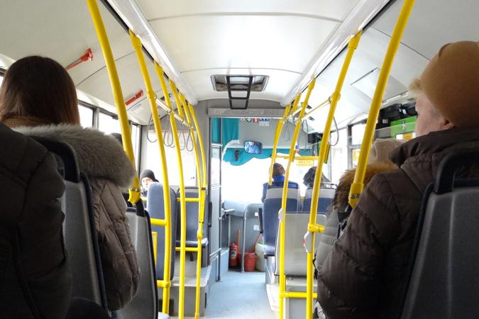 Билет вавтобусах Тюмени с1января будет стоить 25 руб.