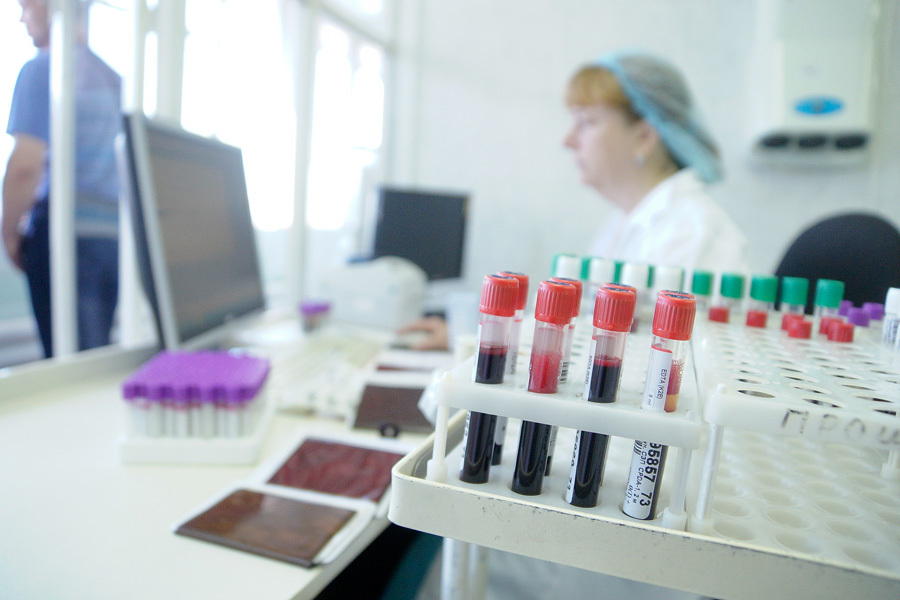 обследование в СПИД-центре