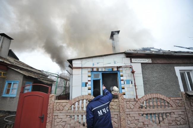 Один человек умер впожаре вжилом доме наюго-востоке столицы
