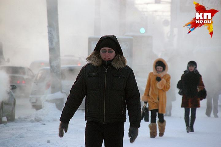 ВНовосибирск идут морозы до-27