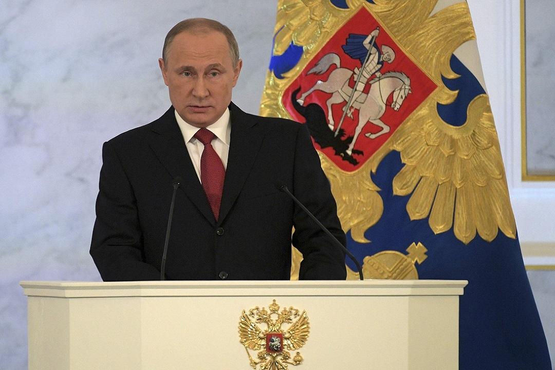 Путин официально выдвинут наНобелевскую премию мира