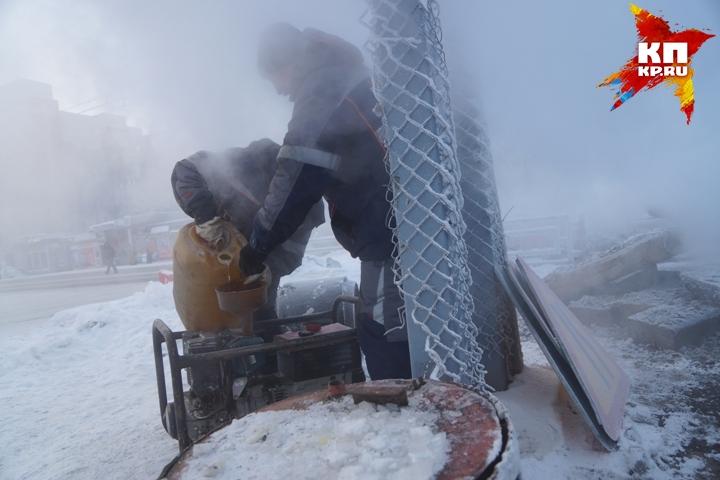 ВКушве втридцатиградусный мороз без отопления остался дом