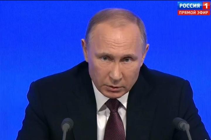 Унас неможет быть никакого другого объединяющего начала, кроме патриотизма— Путин