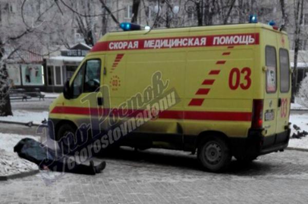 Около школы вцентре Ростова найден труп мужчины