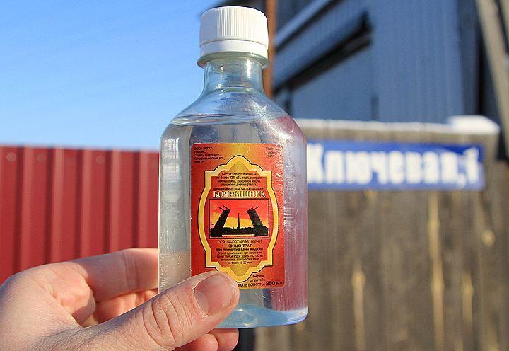 НаСтаврополье изъяли неменее полутора тыс. литров лосьона «Боярышник»