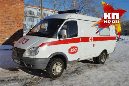 Наокраине Омска сбили ребенка, перебегавшего дорогу