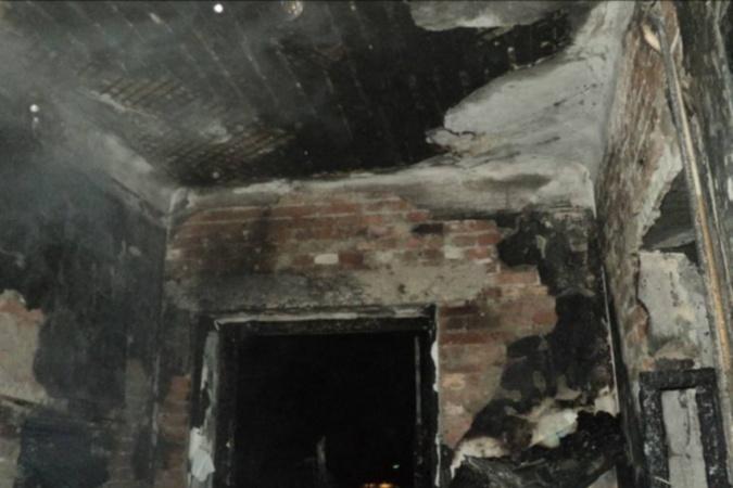 ВРостовской области в личном доме сгорел человек