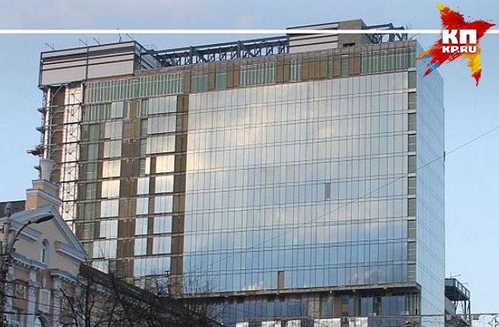 Свидетели: напроспекте Революции зажегся отель «Марриотт»