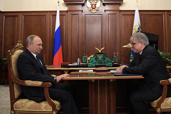 Путин— опритоке иностранцев в университеты РФ: Это высококачественное изменение ситуации