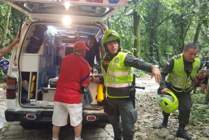 ВКолумбии при обрушении висячего моста погибли семь человек