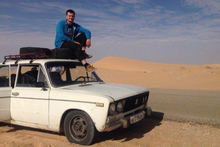 "Томичи объехали 12 стран на ""шестерке"". Фото: vk.com/banjul_challenge"