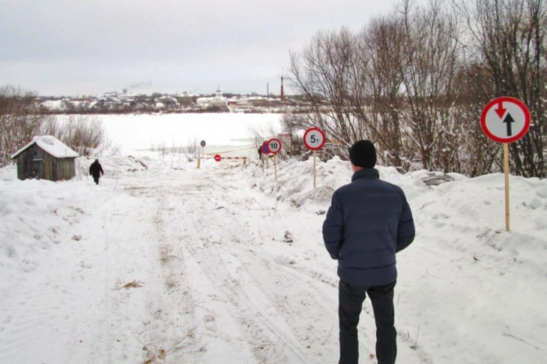 ВКировской области для авто открыли еще две переправы польду Вятки