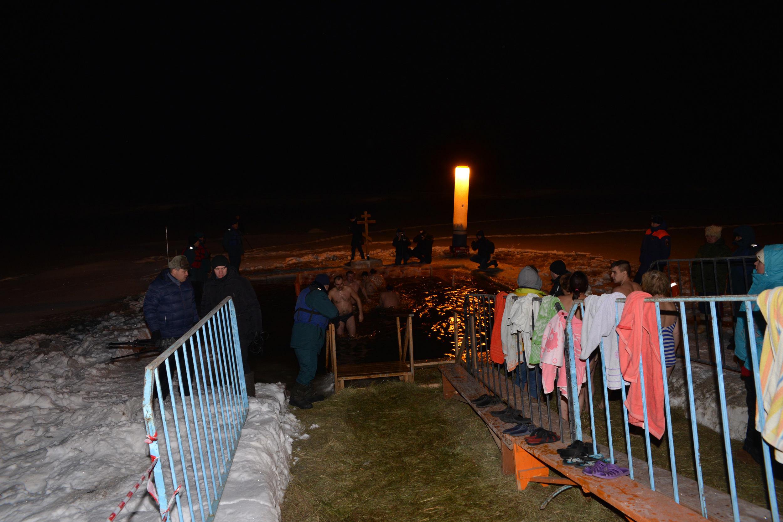 МВД Удмуртии: Крещенские купания вреспублике прошли без происшествий