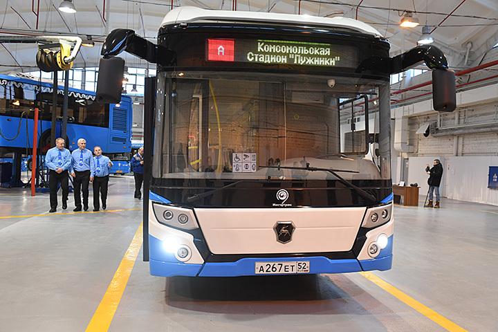 Русский электробус может выйти намаршрут Мосгортранса М2 «Фили» наследующей неделе