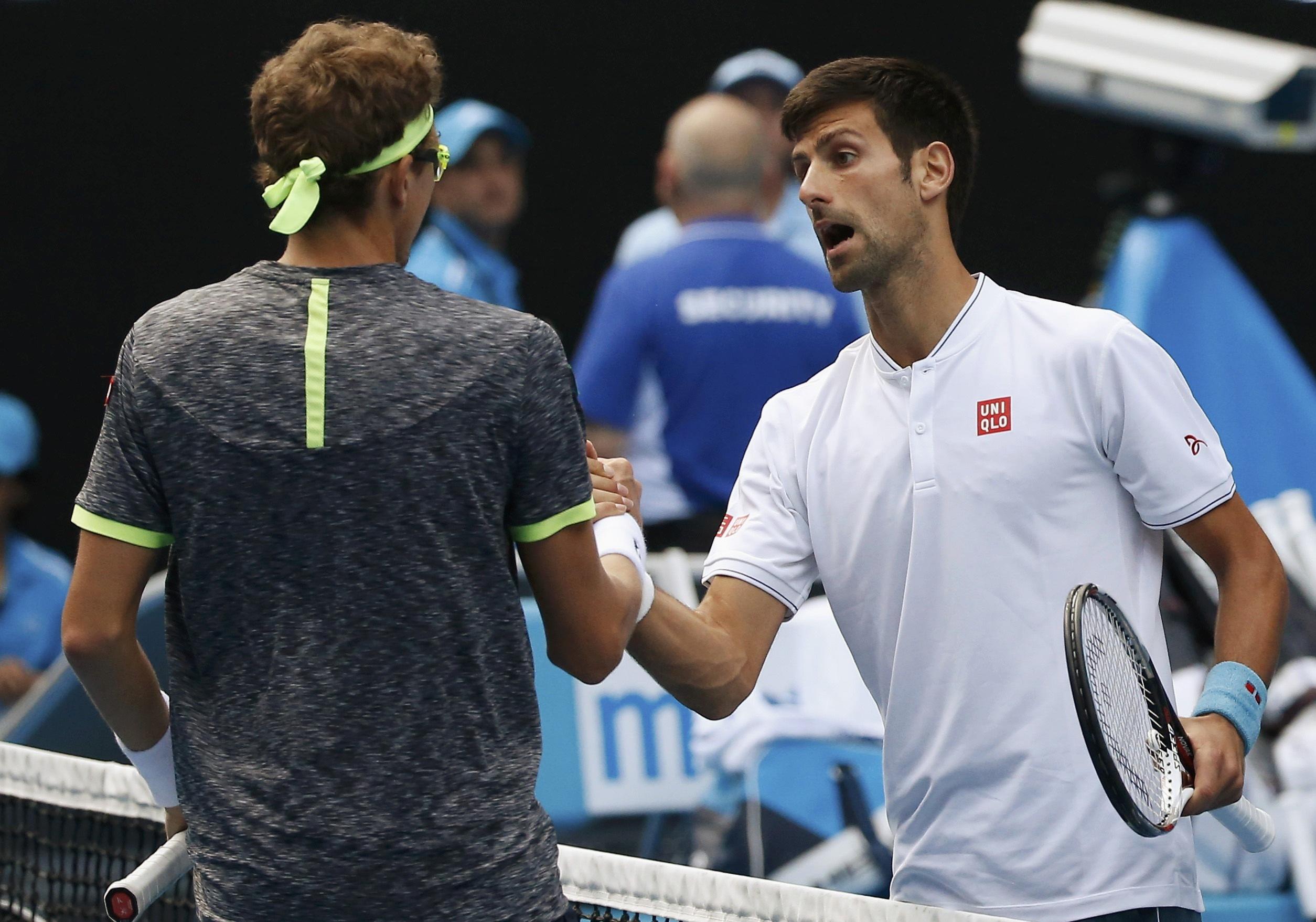Джокович проиграл узбекскому теннисисту наAustralian Open— Сенсация вМельбурне